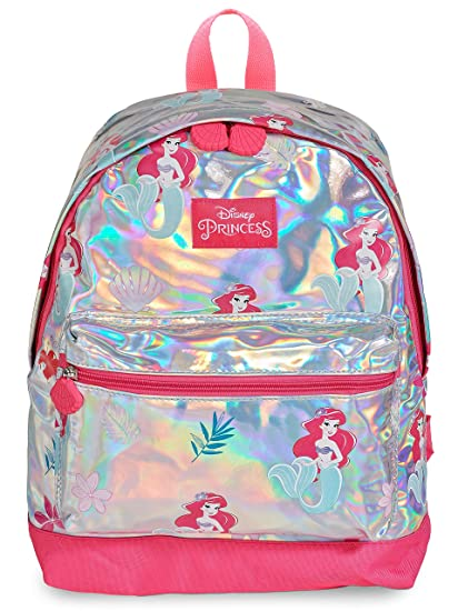87a7c49e003 Disney Princess Girls Holographic Backpack Little Mermaid Ariel School Bag  for Girl