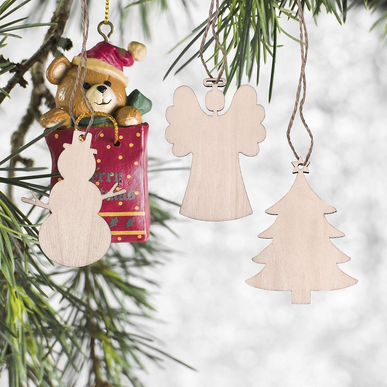 5Stk Weihnachtsbaumschmuck Dekoration Weihnachten Engel Anhänger Christbaum Deko