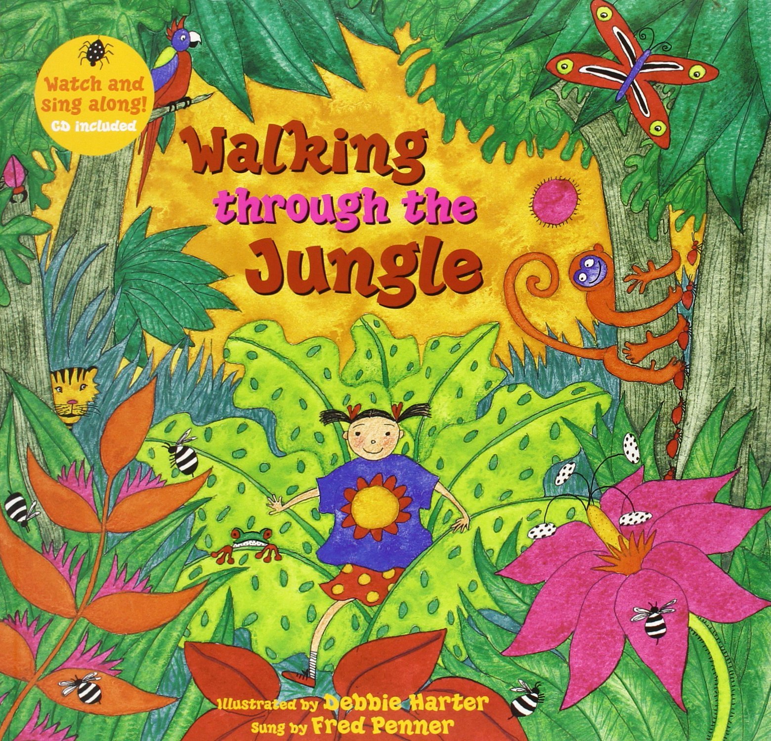Download Walking through the Jungle (Barefoot Books Singalongs) pdf