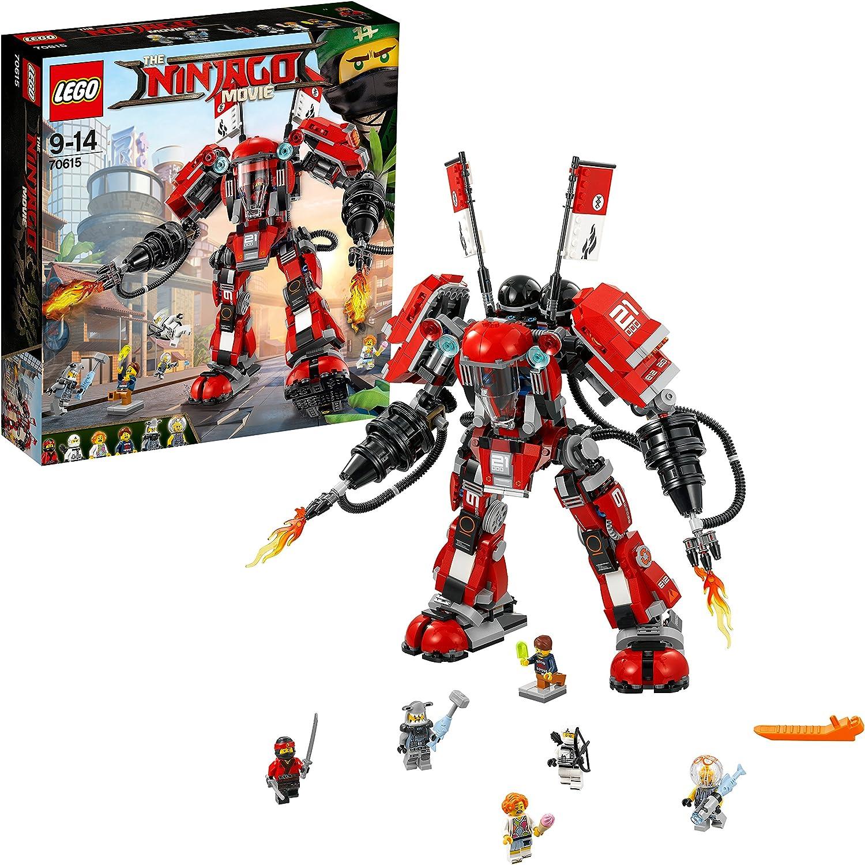 LEGO Ninjago - Robot del Fuego (70615): Amazon.es: Juguetes y juegos