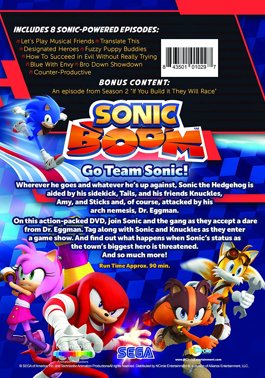 Amazon com: Sonic Boom: Go Team Sonic!: Roger Craig Smith, Colleen O
