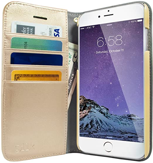 timeless design 5bc5c b7172 iPhone 6 Plus/6s Plus Wallet Case - Folio Wallet Case for iPhone 6 Plus/6s  Plus (5.5