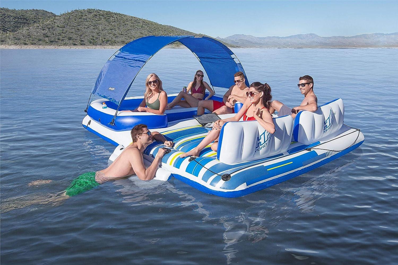 Bestway isola galleggiante tropical breeze gonfiabile 6 persone mare lago 43105