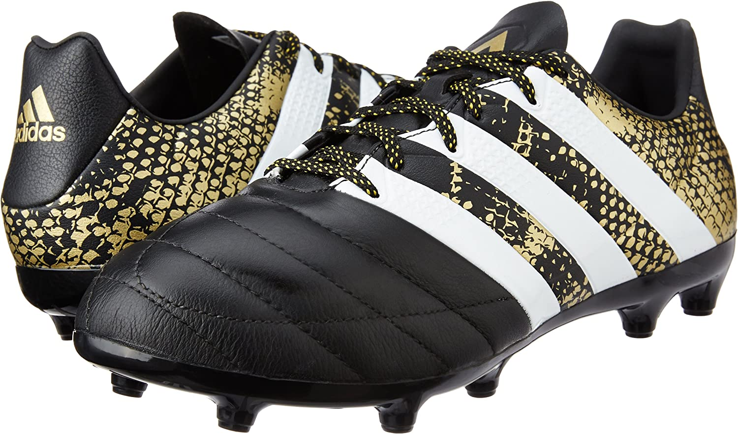 adidas Ace 16.3 Fg Leather, Chaussures de Football Homme