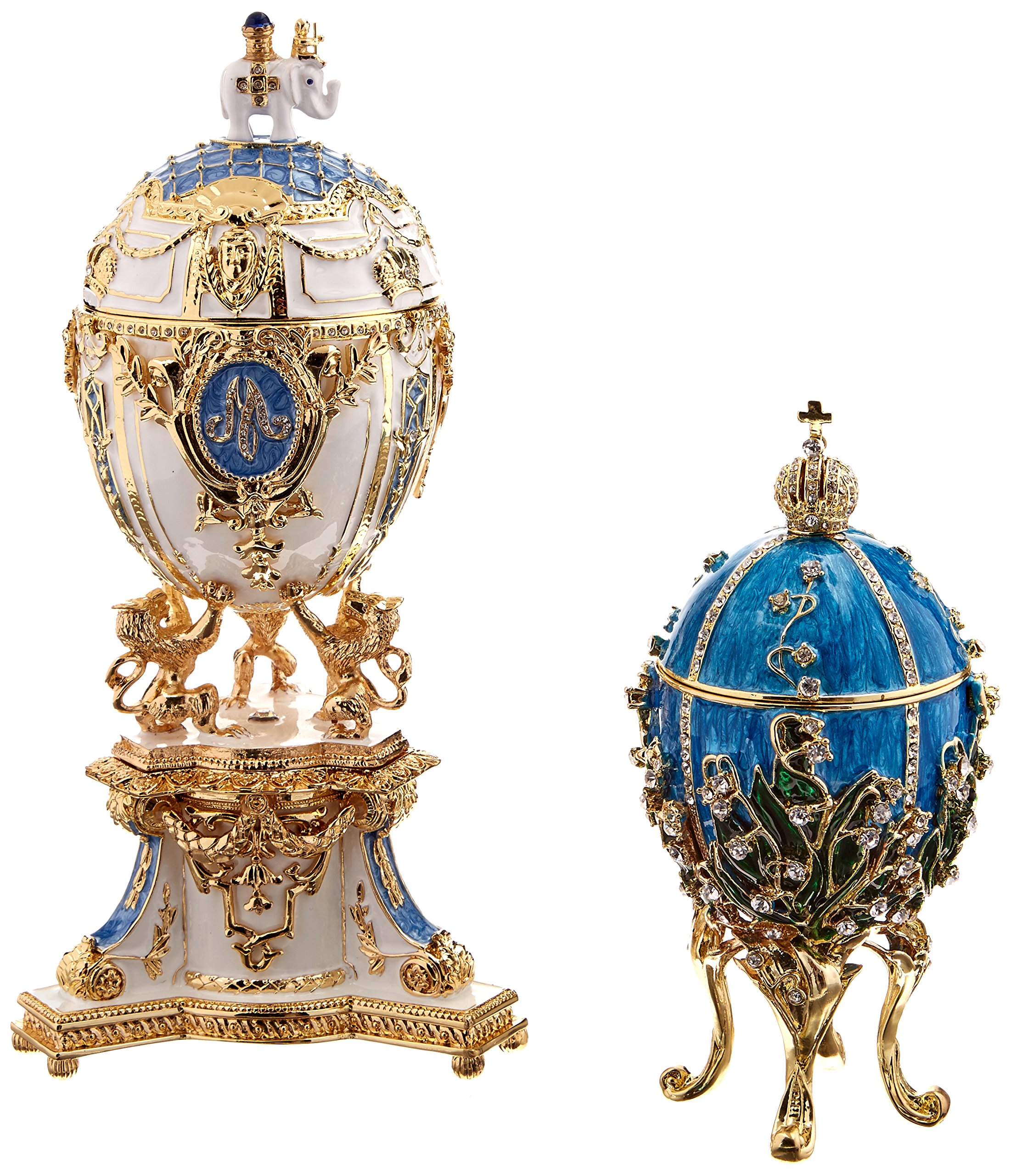 Design Toscano Inc Empress Galina Faberge-Style Collectible Enameled Egg by Design Toscano