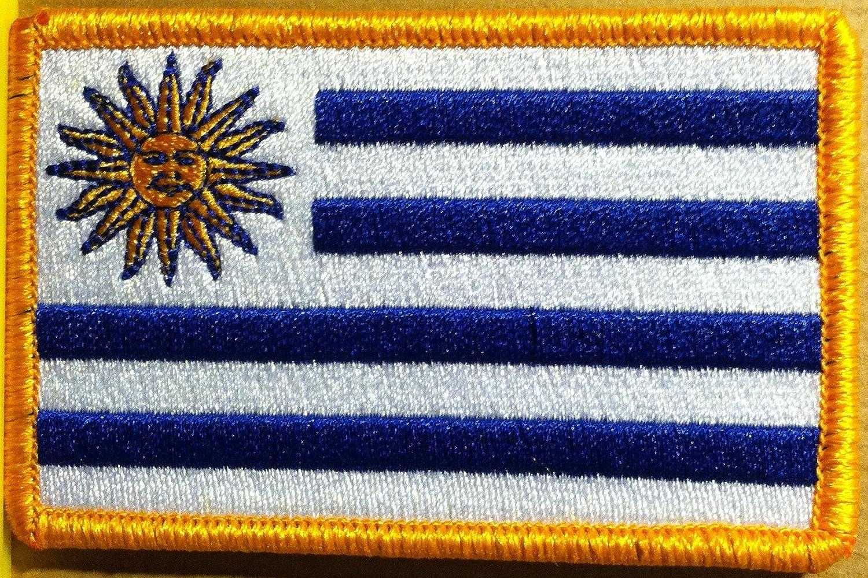 Uruguay bandera de velcro parche MC motorista Militar hombro emblema: Amazon.es: Juguetes y juegos