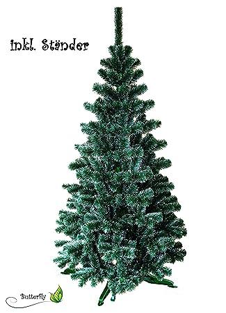 Weihnachtsbaum Künstlich 100cm.Amazon De Künstlicher Tannenbaum 100cm Grün Mit Weißen Spitzen
