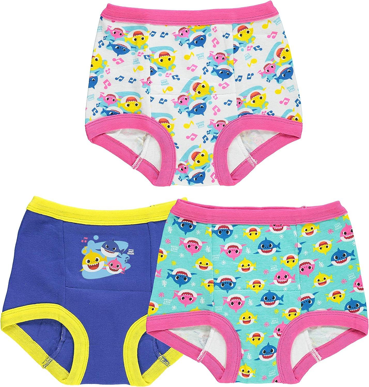 Baby Shark toddler girl 3pk or 7pk Potty training Pants