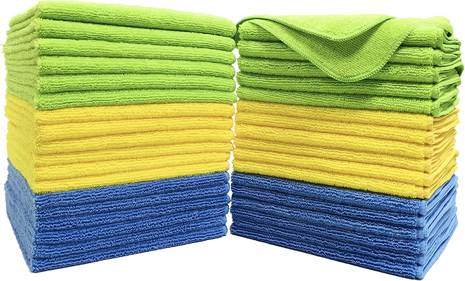 """240 Case 16/""""x16/"""" Economy Grade Microfiber Cleaning Cloths Towels 220GSM Pink"""