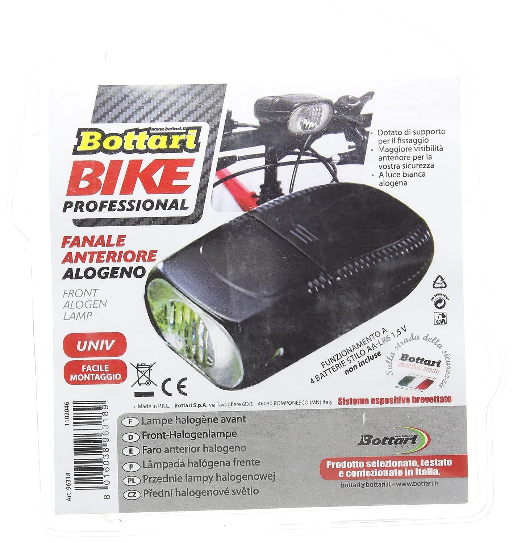 Bottari 96318 Fanale Anteriore Alogeno per Biciclette