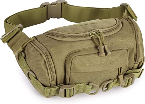 Selighting Riñonera Militar Hombre Cinturon Táctico Bolso Cintura Deportiva Bolsa Organizador de Telefono Llaves para Caza Viaja Escalada Pesca ...