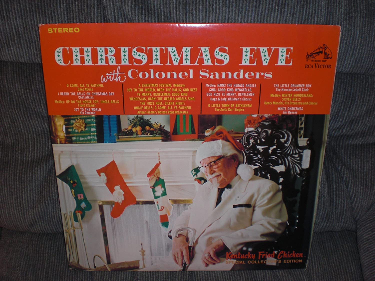 Various - Christmas Eve With Colonel Sanders - Amazon.com Music