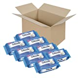 Cottonelle FreshCare Flushable Cleansing Cloths, 336 Wipes, (Pack of 8)