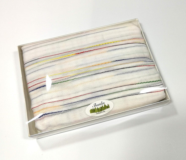 Shanlin Unisex Cotton-Linen Scarves for Men and Women /… Green