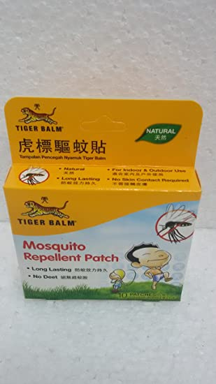 Tiger Balm Mosquito Repellent Patch Baby Care at amazon