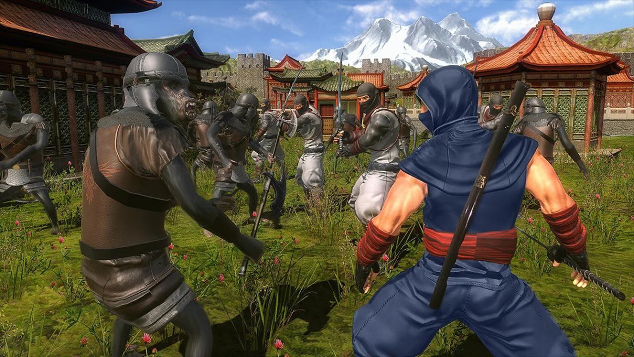 Ninja vs macacos ninja sobrevivência jogo de guerreiro super ...