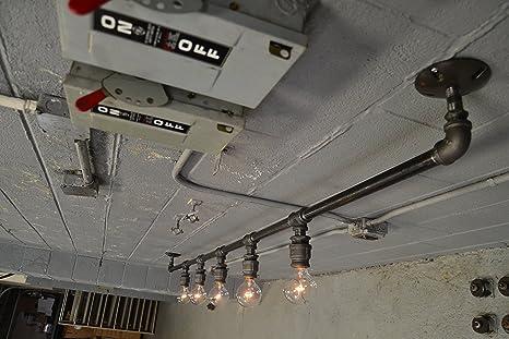 Large industrial track lighting amazon large industrial track lighting mozeypictures Image collections