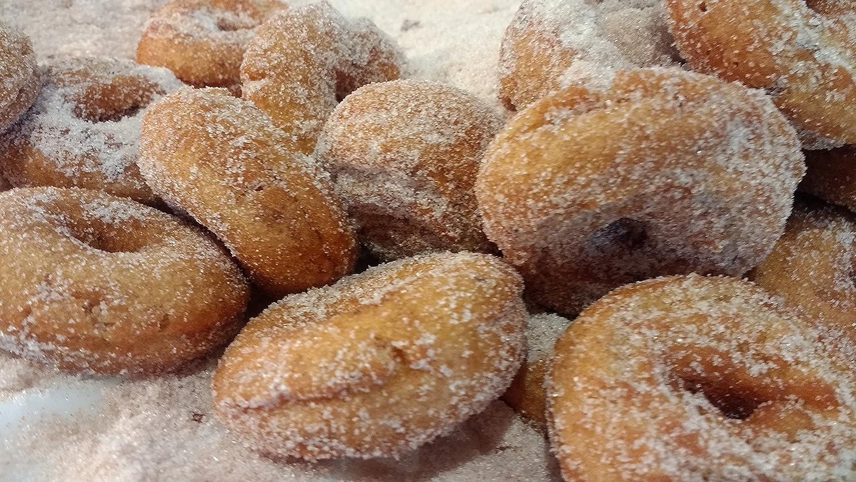 Apple Granja Mini Donuts de sidra (12 unidades), color rojo ...