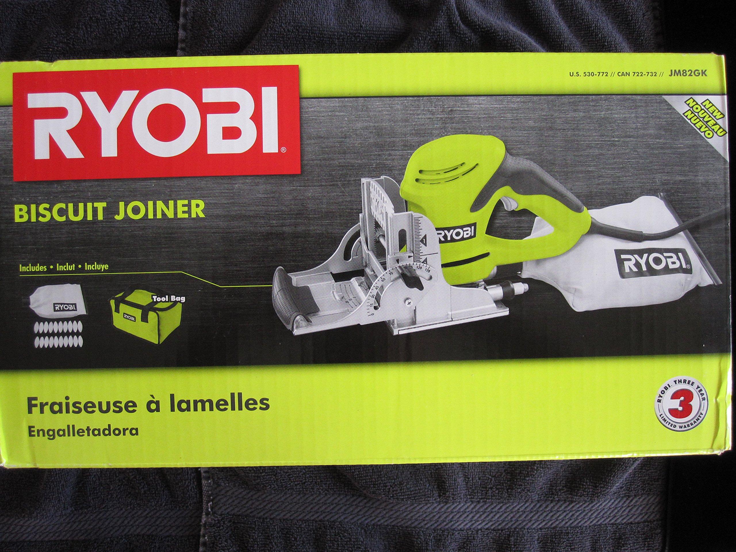 Ryobi ZRJM82GK 6 Amp Biscuit Joiner Kit