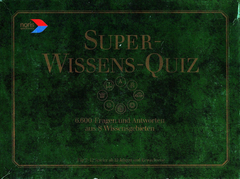 QUIZ von Noris SUPER WISSENS Spiele