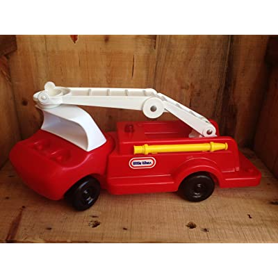Little Tikes Toddle Tots Fire Truck: Toys & Games