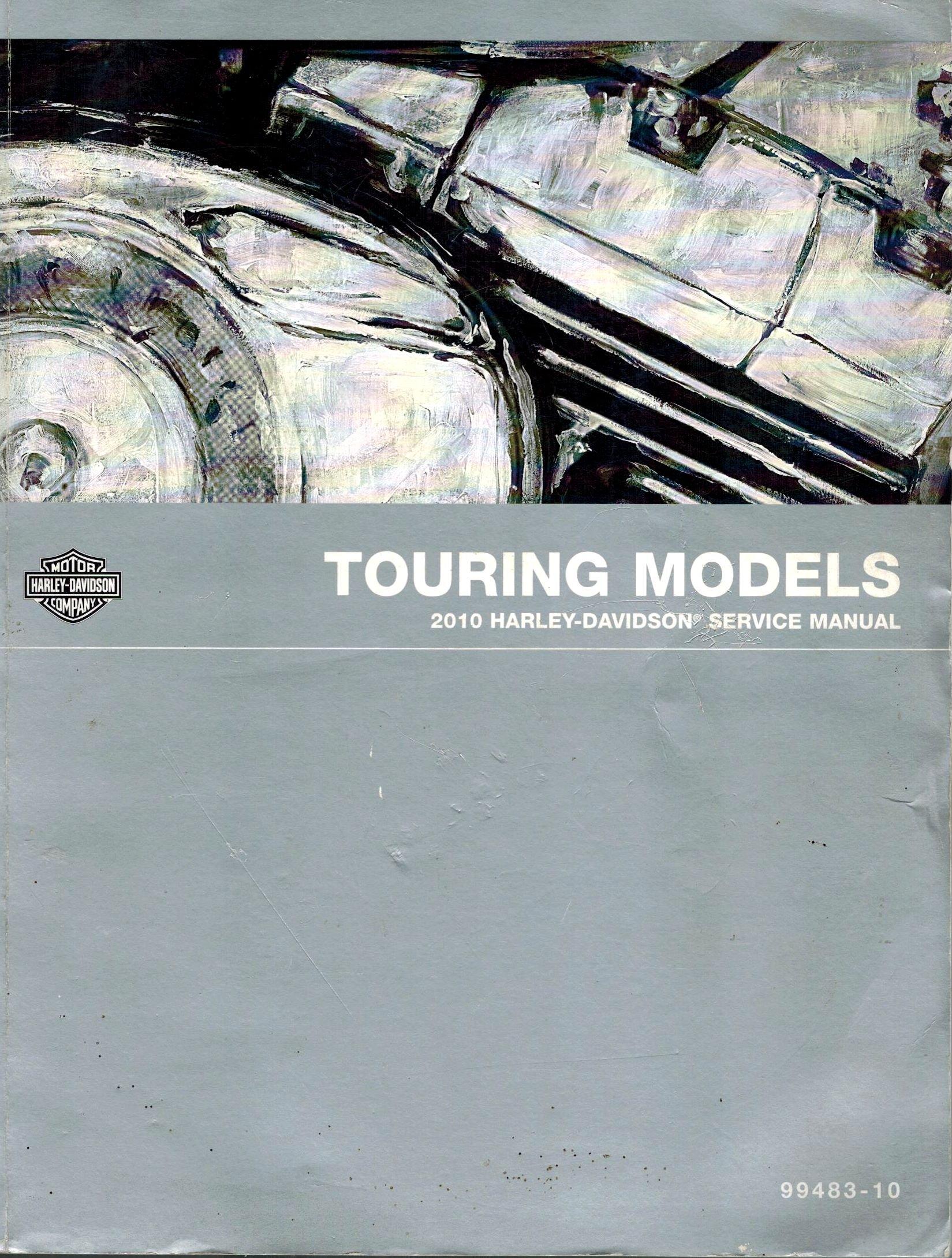 2010 Harley-davidson Touring Models Service Manual 99483-10: Harley-Davidson  Motor Company: Amazon.com: Books