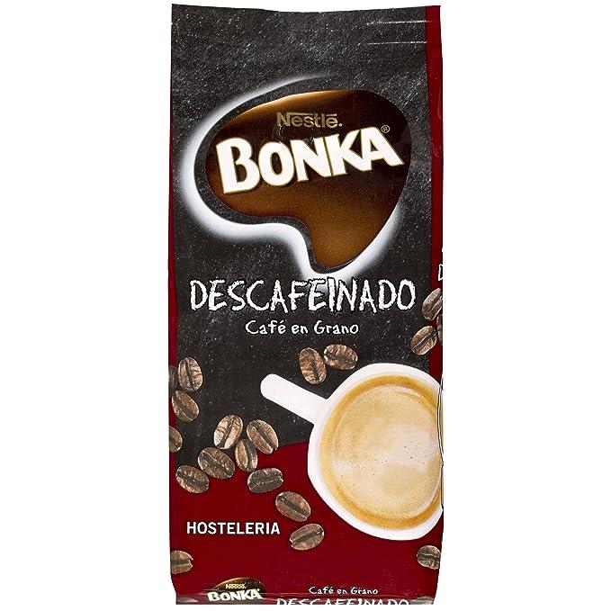 BONKA Café tostado descafeinado para Hostelería - 500 g: Amazon.es ...