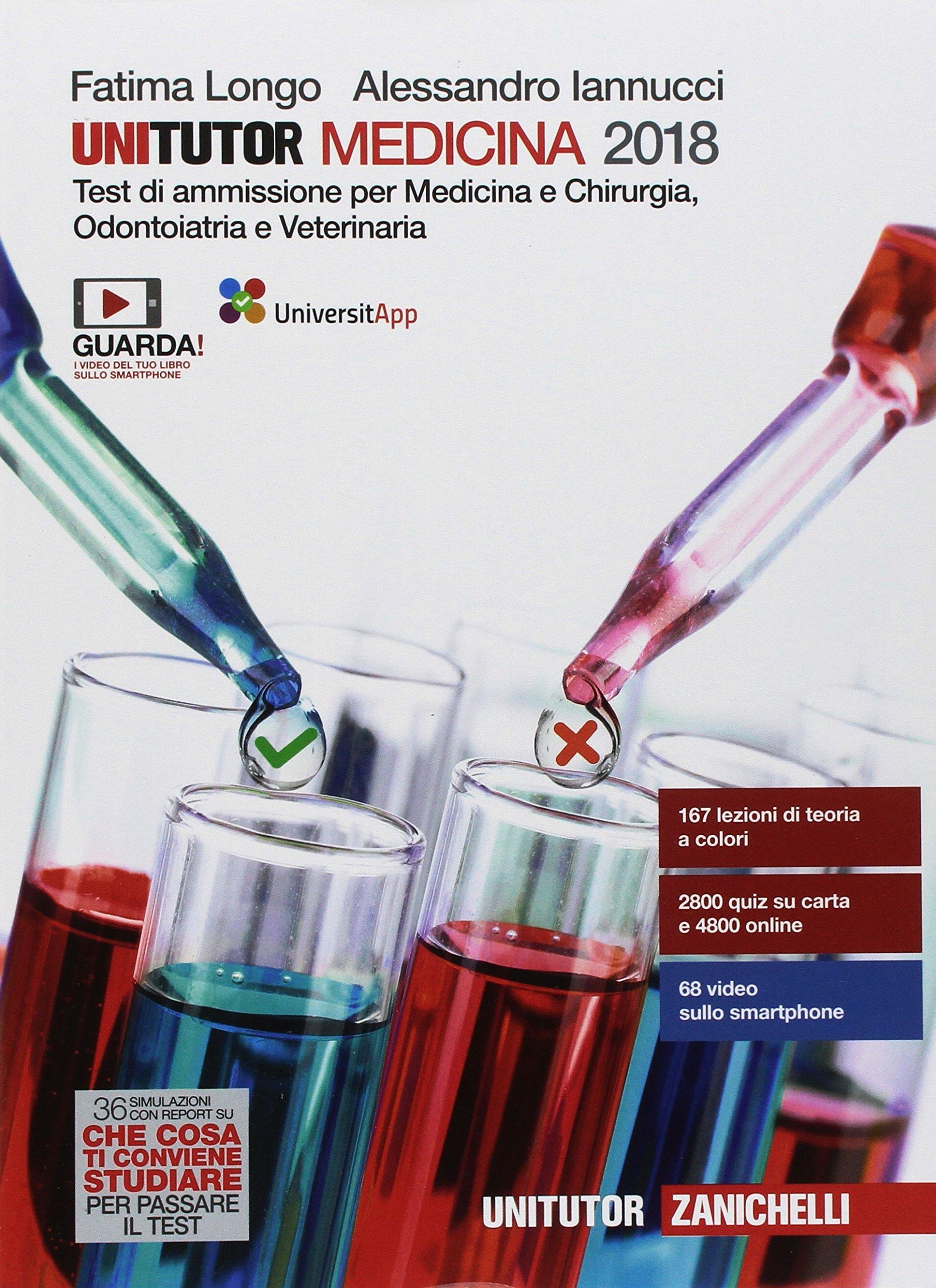 Unitutor Medicina 2018: 9788808731791: Amazon.com: Books