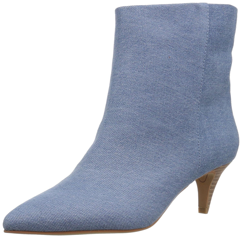 Dolce Vita Women's Deedee Ankle Boot B07B8DXFSH 6.5 B(M) US|Blue Denim