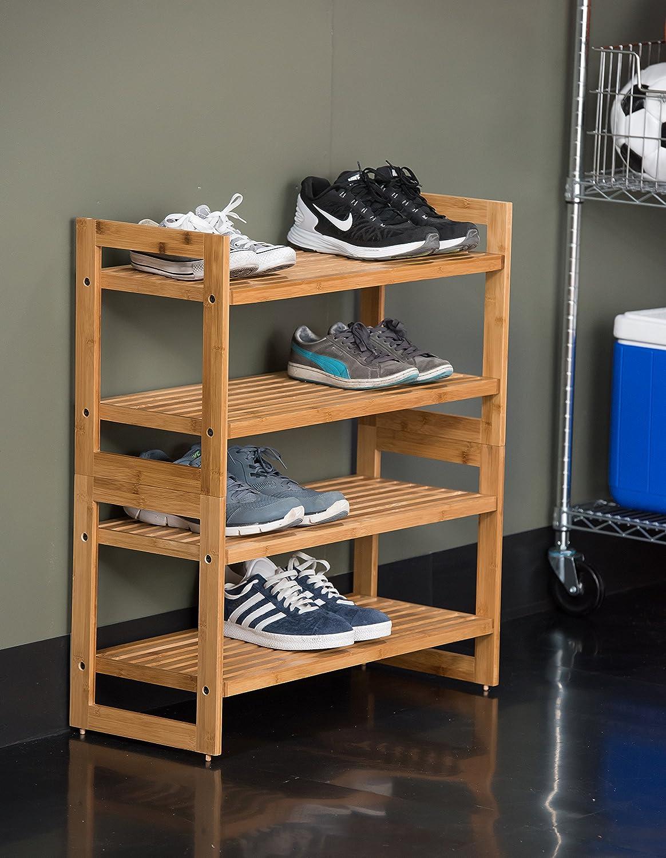 Amazoncom TRINITY Shoe Rack 2 Pack