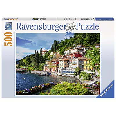 Ravensburger Lake Como, Italy 500pc Jigsaw Puzzle: Toys & Games