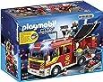Playmobil 5363 - Jeu De Construction - Fourgon De Pompiers