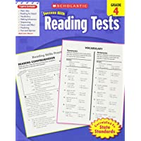 Scholastic Success With Reading Tests,  Grade 4 (Scholastic Success with Workbooks: Tests Reading)