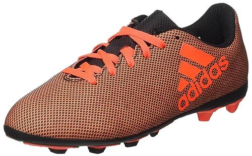 half off a76d7 59bda adidas Girls X 74 FxG J Footbal Shoes, Multicolor (Core Black Red