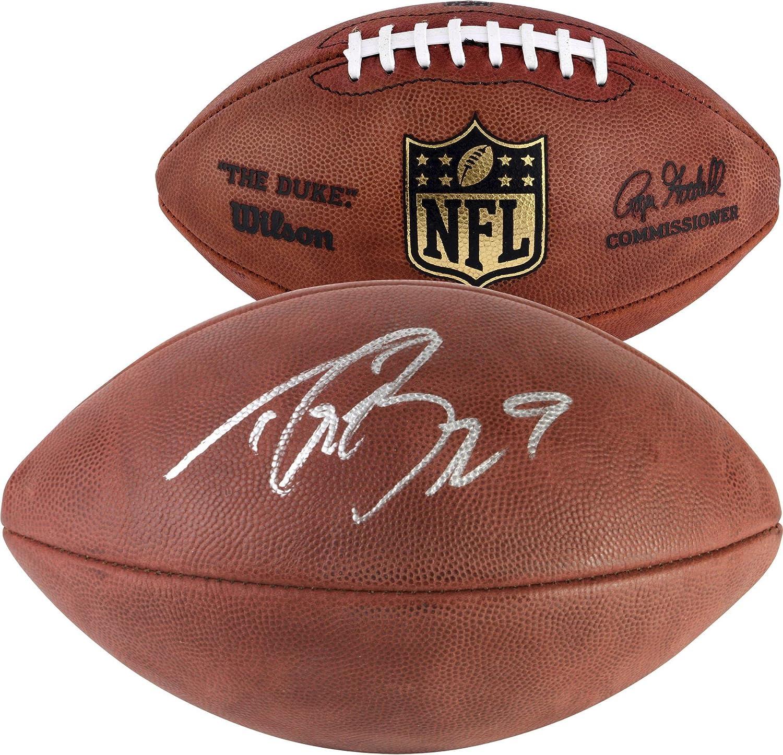 New Orleans Saints Drew Brees Autographed Duke Football - Fanatics Authentic Certified - Autographed Footballs