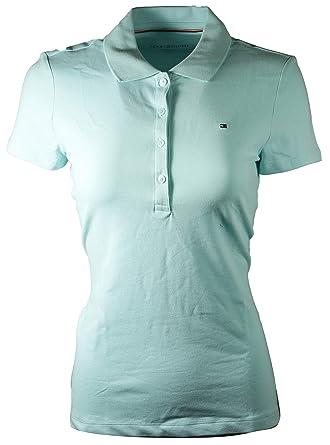 202e0603d5fa Tommy Hilfiger - T-Shirt - Manches Courtes - Femme  Amazon.fr  Vêtements et  accessoires