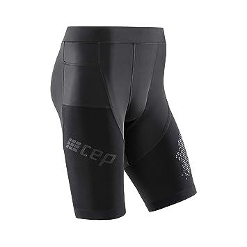 efcfd980618f CEP - Run Shorts 3.0 Kurze Laufhose in schwarz für Herren, extrem  funktionale und Bequeme Sportleggins, Made by medi