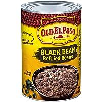 Old El Paso Black Bean Refried Beans, 16 Ounce
