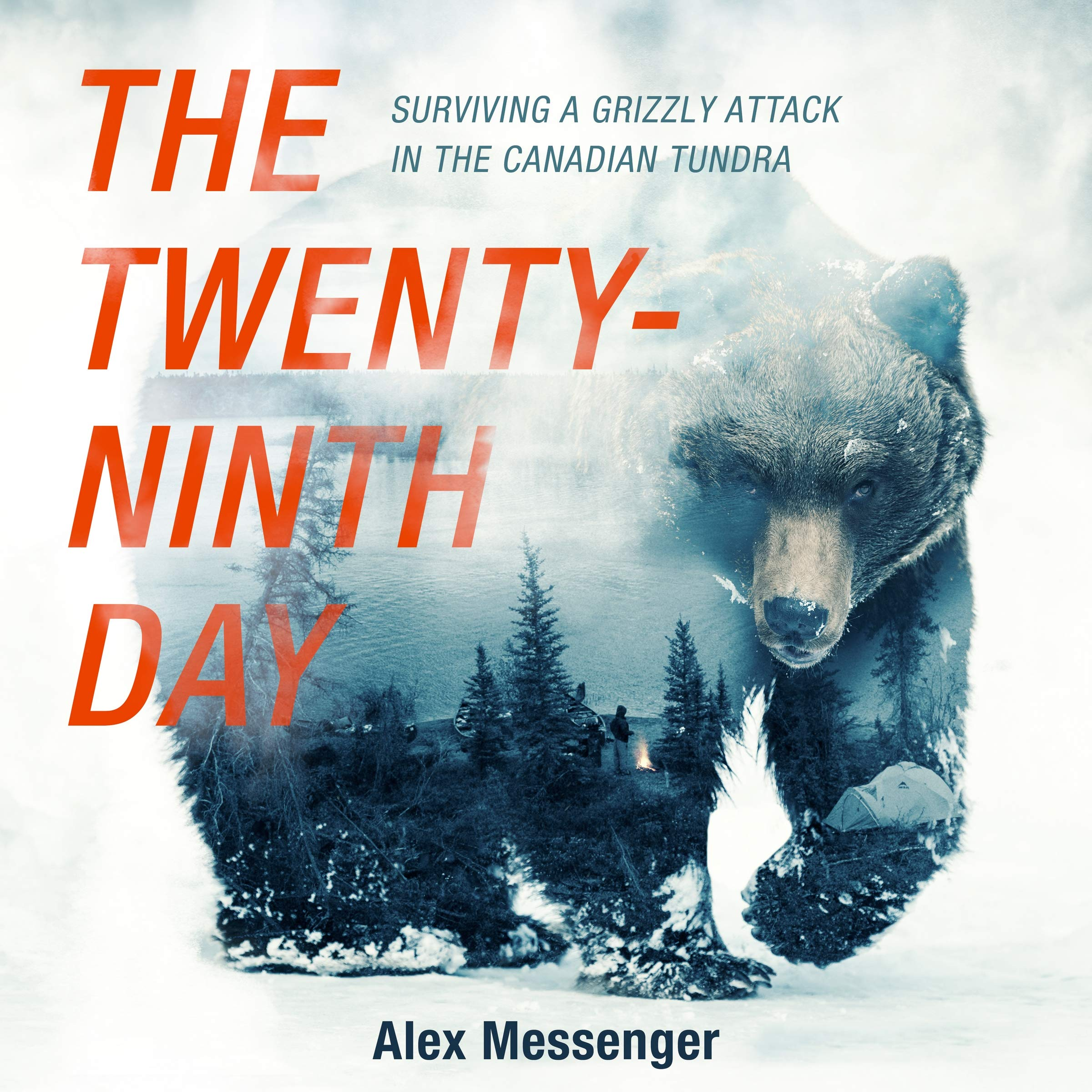 The Twenty-ninth Day: Surviving a Grizzly Attack in the Canadian Tundra, Library Edition by Blackstone Pub