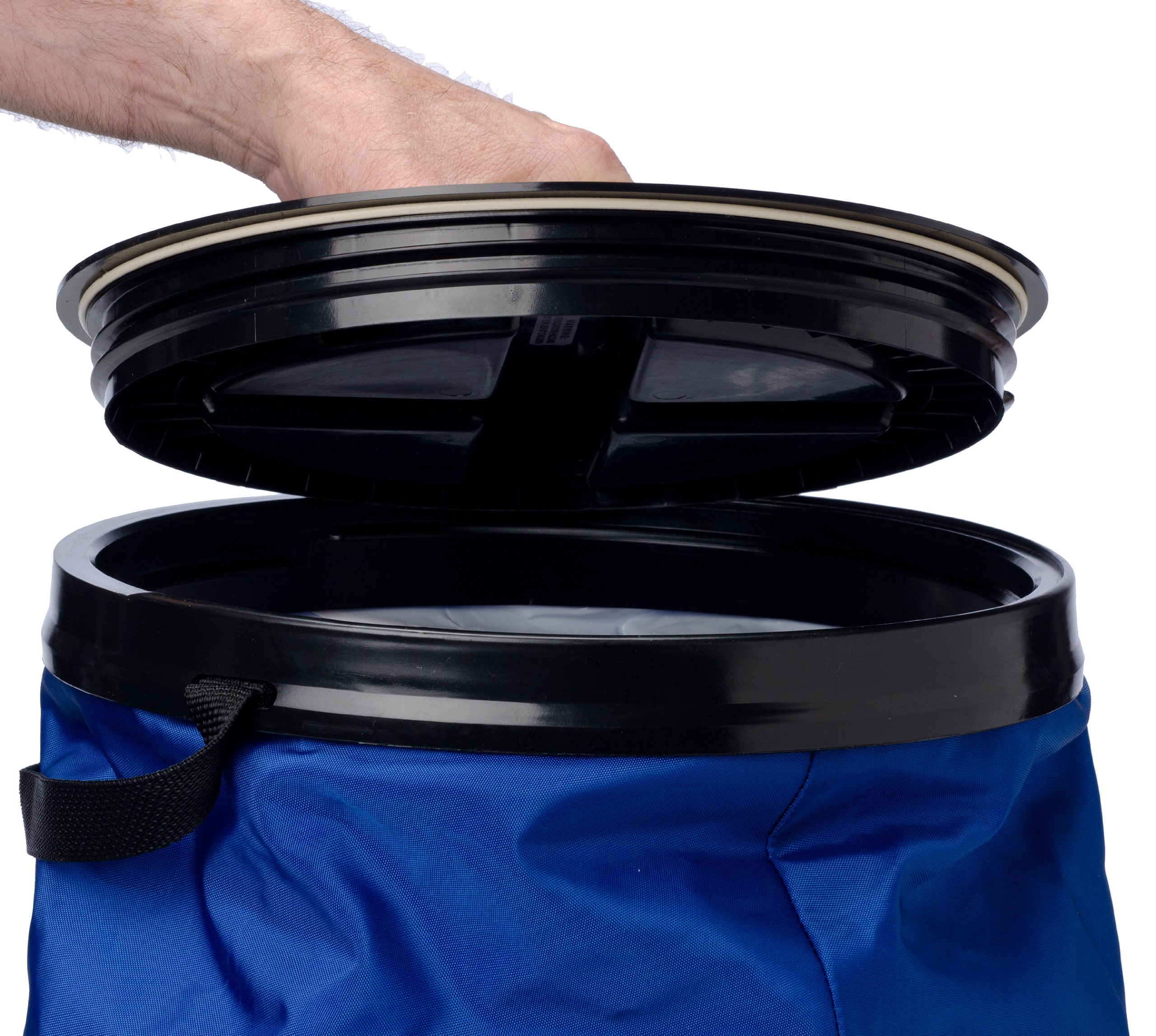 Vittles Vault SoftStore Collapsible, Airtight Pet Food Container 50 Pound Capacity, Blue by Vittles Vault (Image #4)