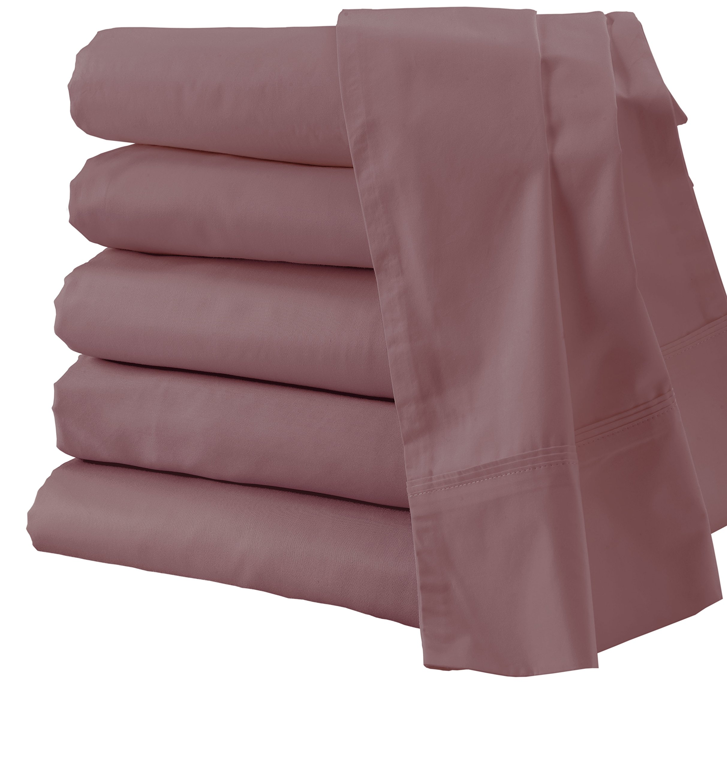 Outlast All Season Temperature Regulating Sheet Set in Rose, XL-Twin