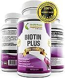 * 4X POTENCY BIOTIN * 20 000mcg Daily - Biotin 10000mcg - Per Capsule – Biotin For Hair Growth – Beats- Biotin Gummies - Biotin Drops - Biotin 5000 mcg - Biotin 2500 mcg - Biotin Hair Skin Nails