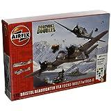 Airfix 1:72 Scale Bristol Beaufighter Mk.X Focke-Wulf Fw190 - 8 Dogfight Doubles Gift Set Model Kit