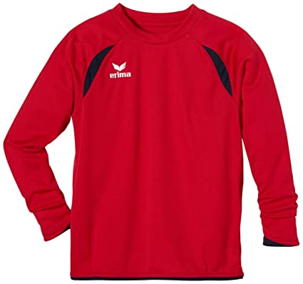 erima Trikot Tanaro langarm - Camiseta de equipación de fútbol para niño, color rojo, talla 12 años (152 cm): Amazon.es: Deportes y aire libre