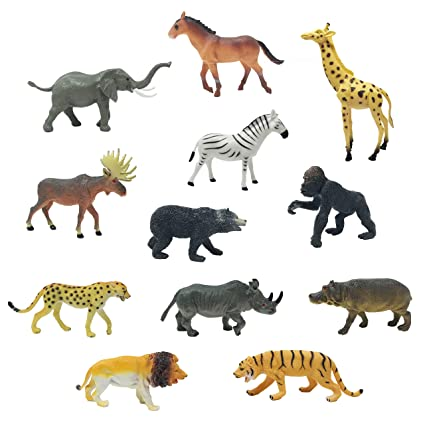 Boley 12PC Jumbo Safari Animals