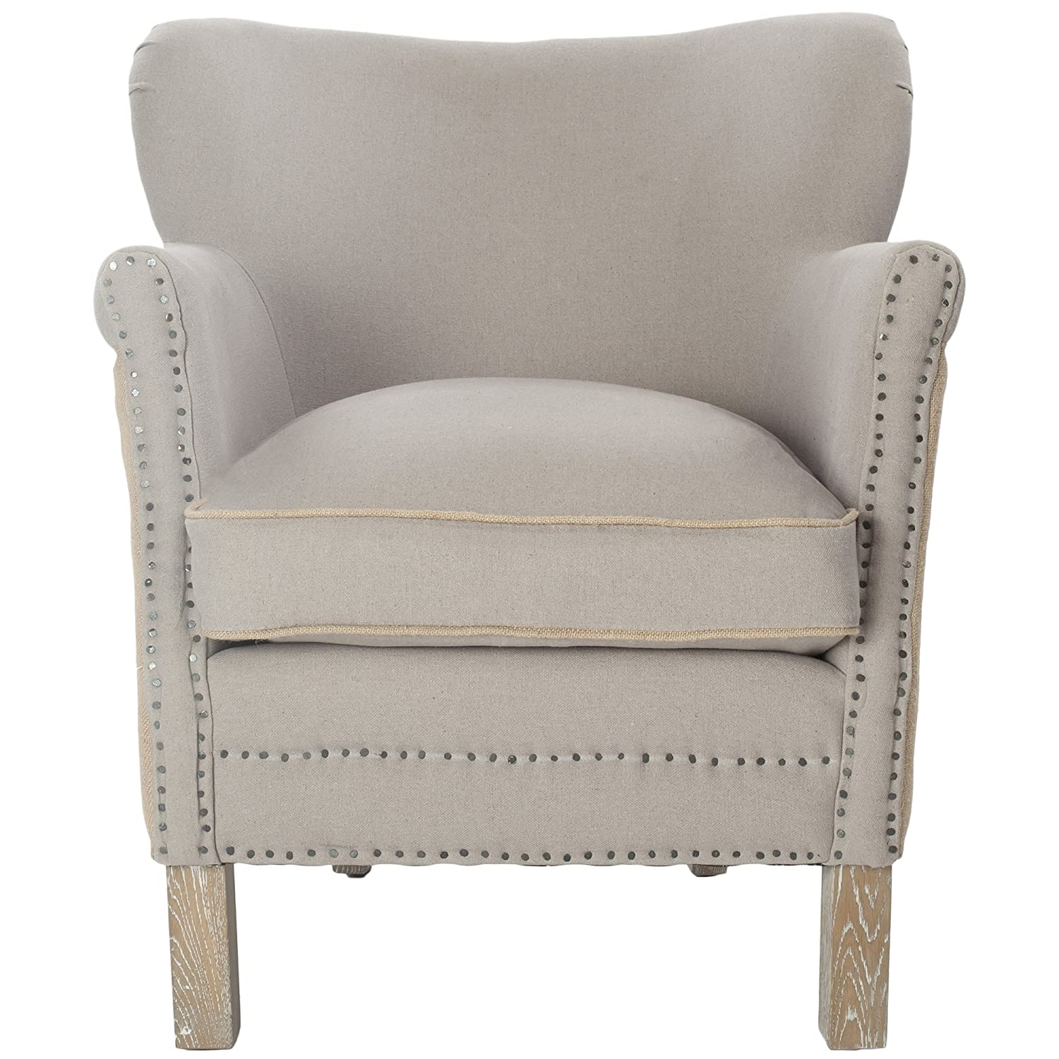 Amazon Safavieh Mercer Collection Jenny Arm Chair Taupe
