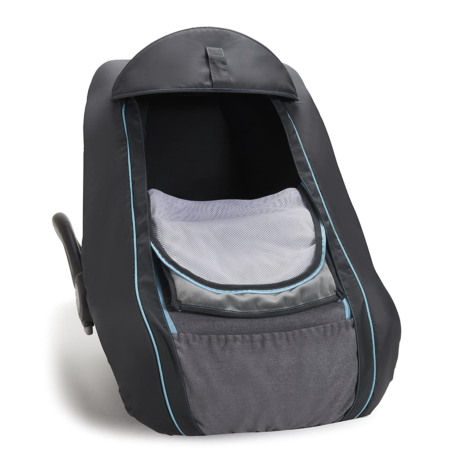 BRICA 61341 SmartCover - Infant Car Seat Cover, Grey