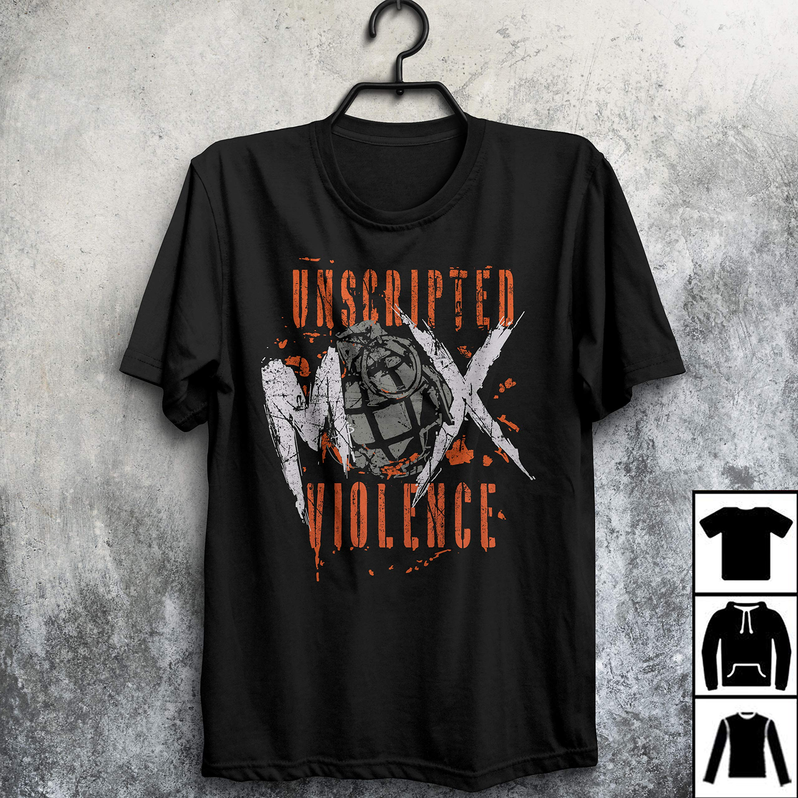 Jon Moey Unscripted Violence T Shirt Long T Shirt 2811