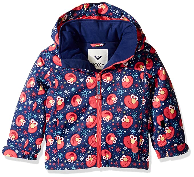 Roxy - Chaqueta - para niña Elmo Print_Blueprint: Amazon.es ...