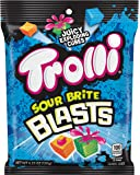 Trolli Sour Brite Blasts Gummy Candy, 4.25 Ounce, Pack of 12